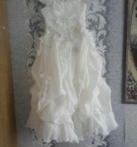 Платье свадебное(детское)