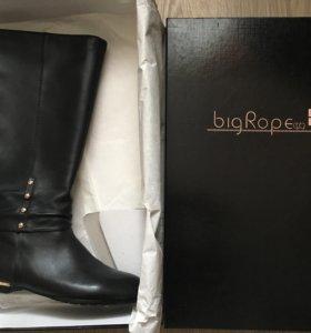 Сапоги кожаные BigRope размер 39-40