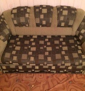 2 дивана один большой другой по меньше