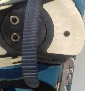 Сноуборд Nideсker+крепы + ботинки Vans