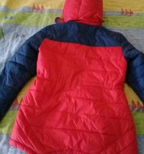 Куртка осень весна размер 48