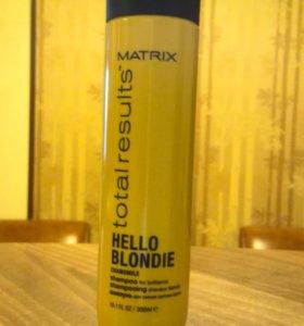 Шампунь для блондированных волос Матрикс