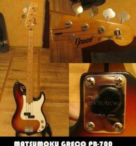 Бас-гитара GRECO