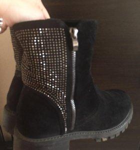 Зимние ботинки на меху!