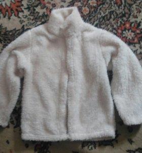Меховая курточка на апрель - лето на 5-8лет