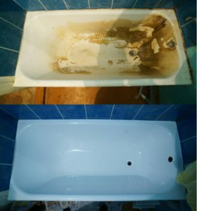 Реставрация ванн любой сложности