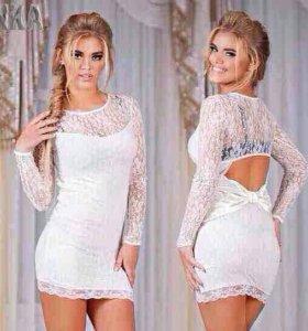 Новое стильное платье 42-44 р-р