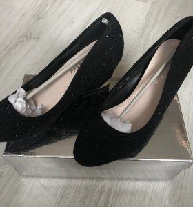 Лёгкие туфли на платформе