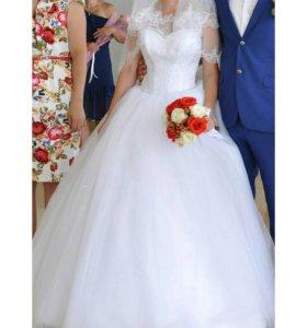Свадебное и выпускное платья!