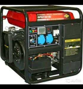 Генератор бензиновый инверторный 8кВт