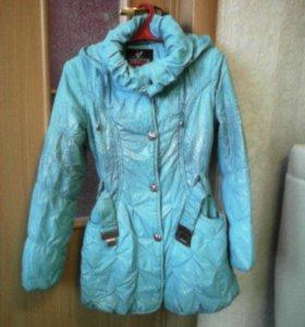 Пальто девочковое