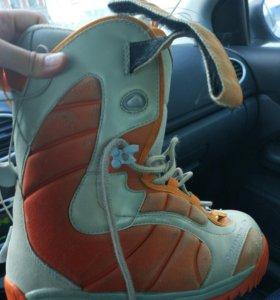 Комплект Сноуборд, ботинки, крепления, чехол