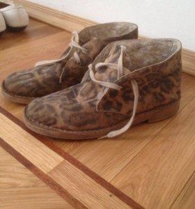 Ботинки из Испании