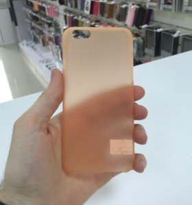 Чехол ультратонкий 0,1 мм для iPhone 6/6s