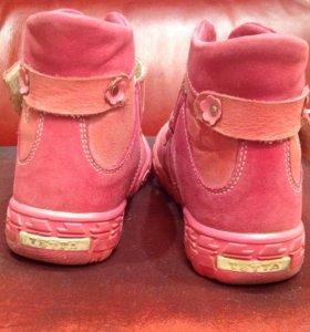 Ботинки демисезонные на байке Тотто