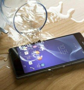 Восстановление телефонов после попадания влаги