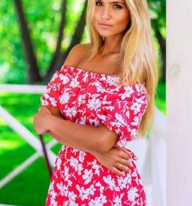 Новое летнее платье 44размер