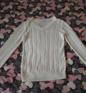 Белый свитер/кофта