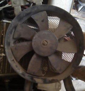 Вентилятор основного радиатора