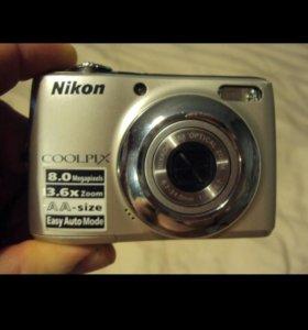 Цифровой фотоаппарат Nikon L21 полностью в рабочем