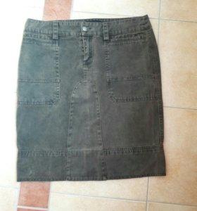 Юбка джинсовая 48 размер