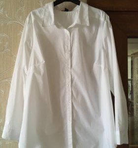 Рубашка белая, новая