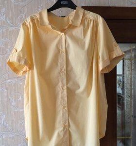 Блуза желтая, новая