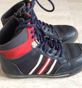 Демисезонные кроссовки на флисе Tiflani р-р 29