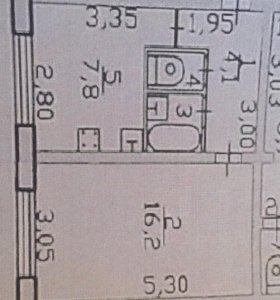 Продам 1-комнатную квартиру Заветы-Ильича
