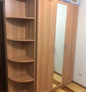 Шкаф + этажерка