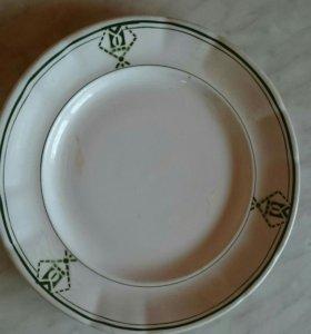 Тарелка 40-х годов винтаж