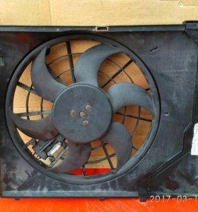Вентилятор кондиционера БМВ е46 диффузор
