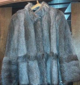 Куртка, полушубок. Мех-нутрия.