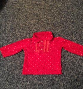 Блузка для малышки