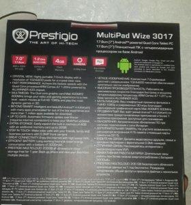 Новый планшет prestigio в упаковке. Торг.