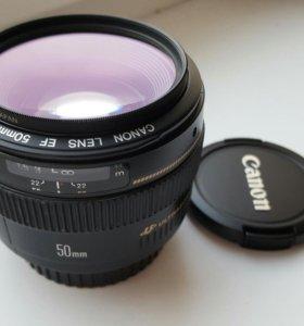 Canon Ultrasonic 50 mm 1.4