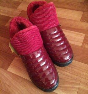 Весна/осень Непромокаемые ботинки