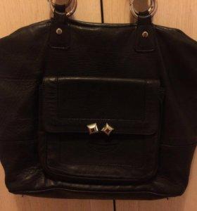 Кожаная сумка Baldinini из Италии