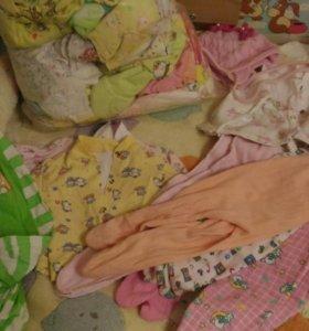 Детские вещи на девочку пакетом и поштучно