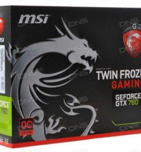 Видеокарта MSI GeForce GTX 760 Gaming