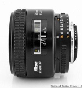 Nikon AF 85 mm 1.8D