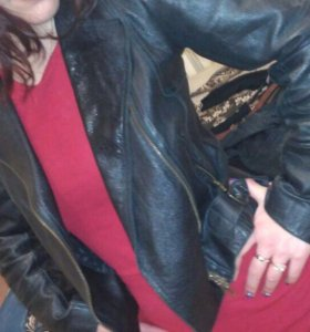 Куртка косуха, натуральная кожа