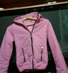 Куртка женская болоневая