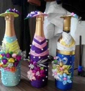 Красиво оформленный подарок вместо цветов!