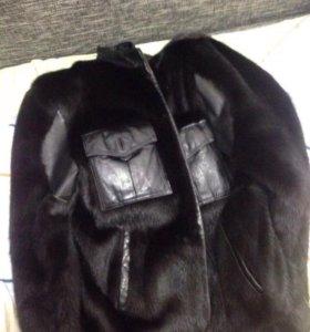 Норковая шуба -куртка