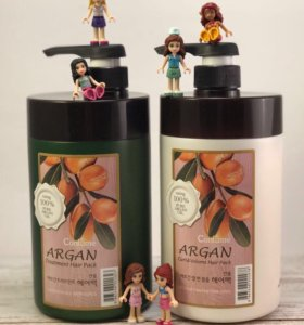 Маска для волос (большой объем) с аргановым маслом