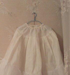Платье, юбка под платье пышная юбка, шубка.