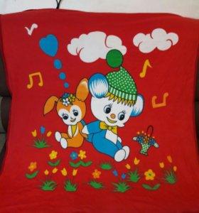 Детское одеяло покрывало
