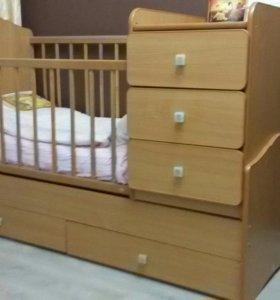Детская кровать - трасформер