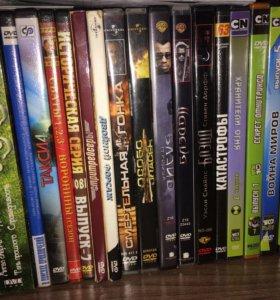 Фильмы , мультфильмы на дисках